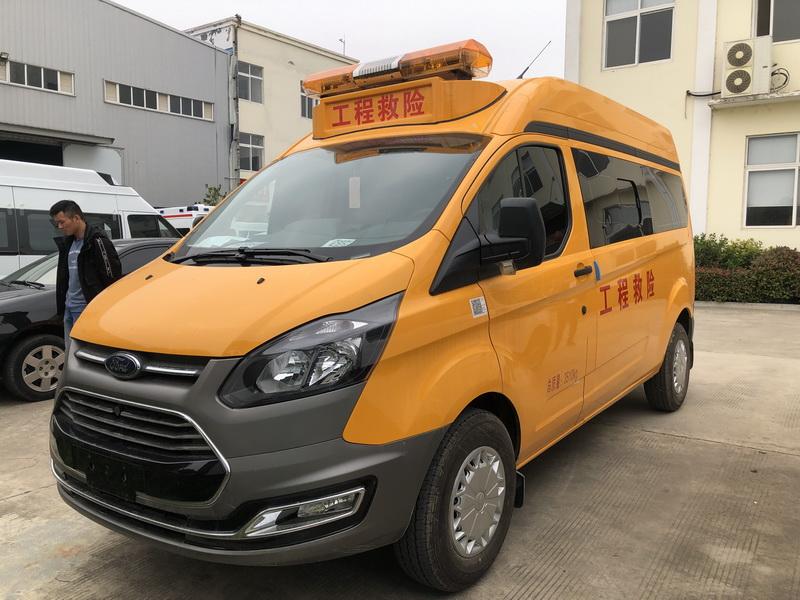 福特新全顺V362救险气防车图片