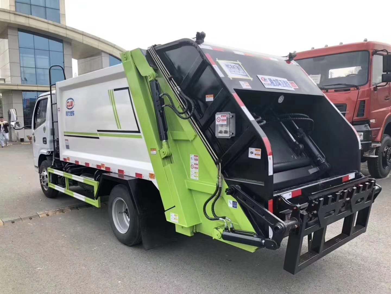 國六6方小多利卡壓縮垃圾車配置圖片圖片