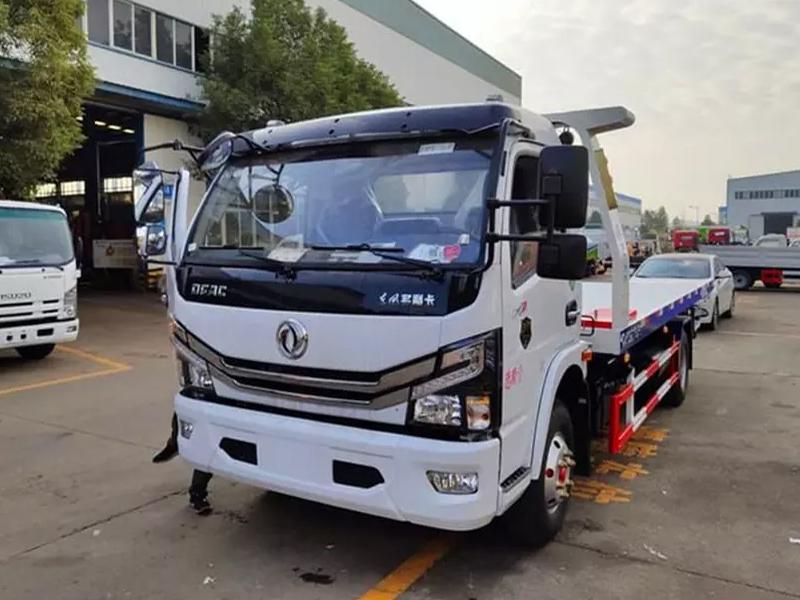 国六东风小多利卡蓝牌清障拖车厂家最新款图片