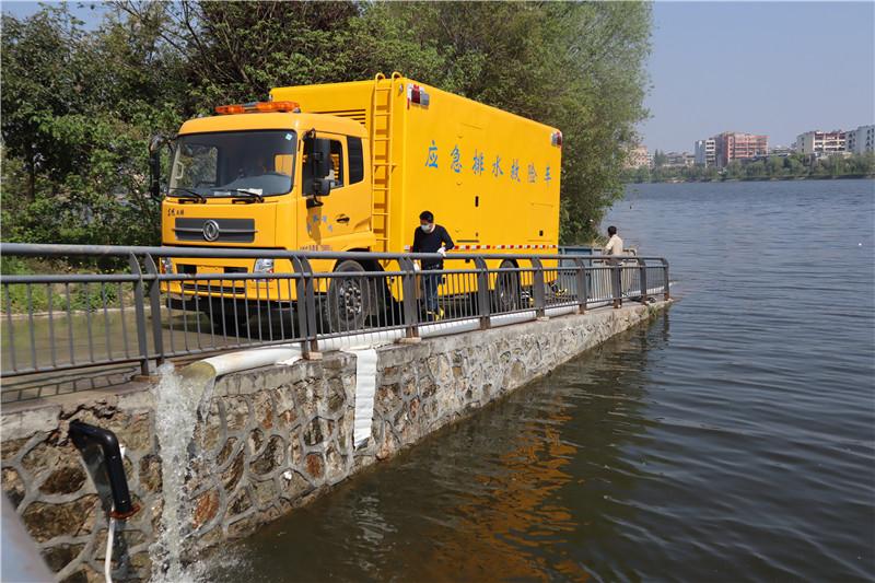 国六东风天锦大流量应急排水救险车