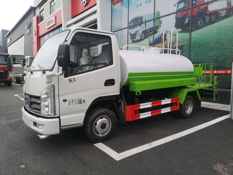凱馬2方灑水車發往廣西