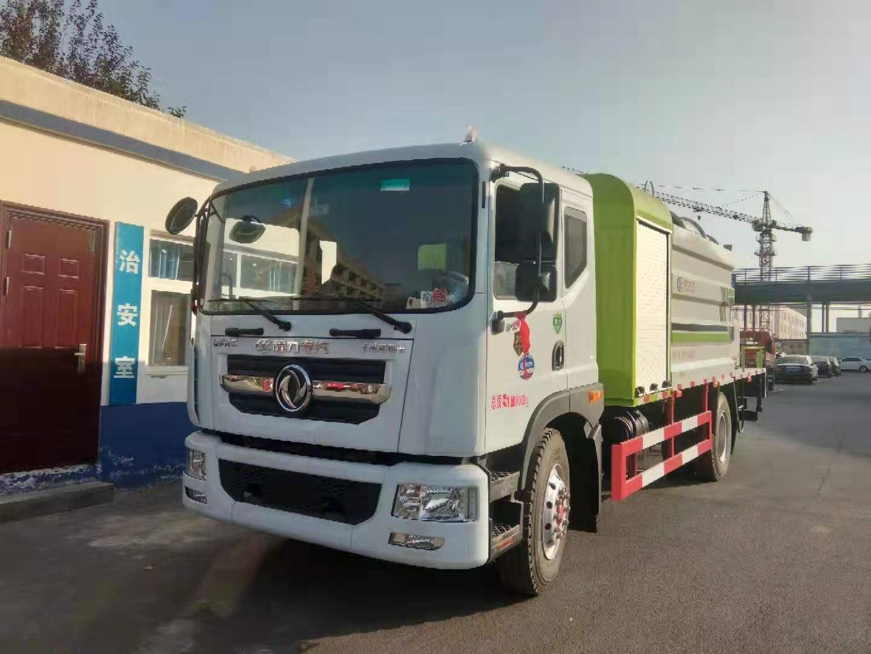 国六东风大多利卡D9雾炮车喷雾60米厂家最新价格和图片