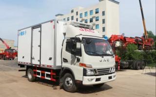 江淮骏铃V6型4米2(国六)冷藏车图片