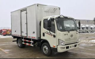 解放J6F国六(4.2米)冷藏车图片