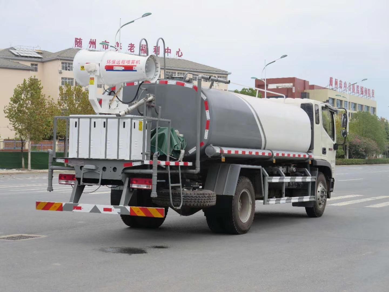 国六福田12吨雾炮车厂家30米雾炮洒水抑尘车价格