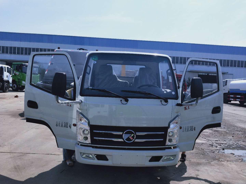 國六凱馬3~5立方勾臂垃圾車廠家價格高配102馬力圖片