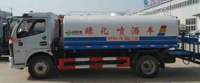 國五各系列灑水車促銷視頻