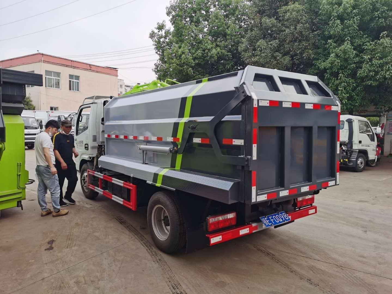 国五国六侧装压缩垃圾车现车配置价格图片