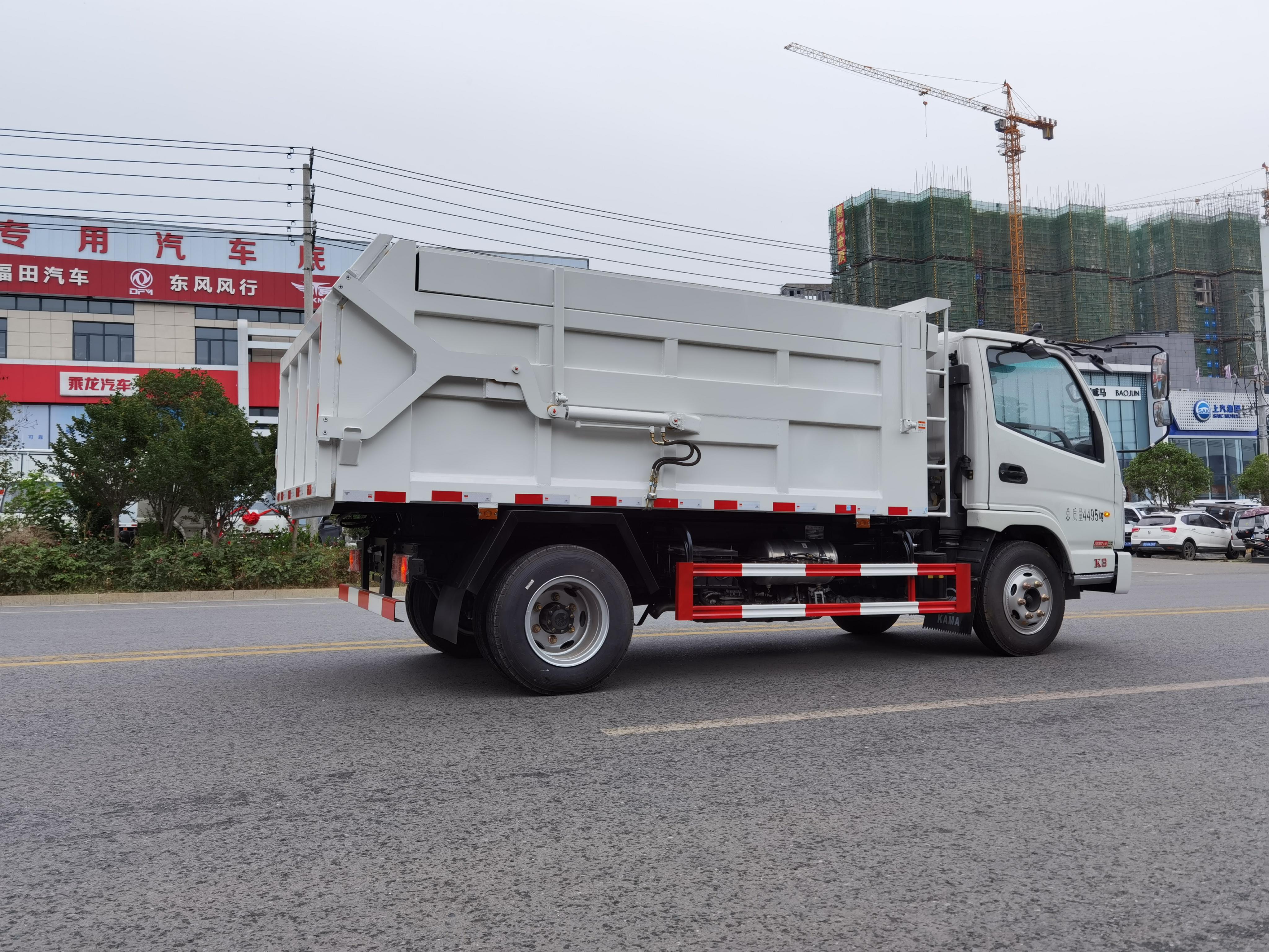 凱馬K8翼展5方對接垃圾車圖片
