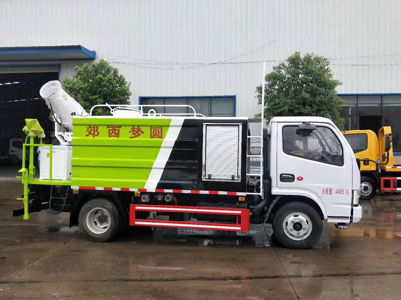 国六30米抑尘车厂家5吨东风小多利卡抑尘洒水车价格仅......图片