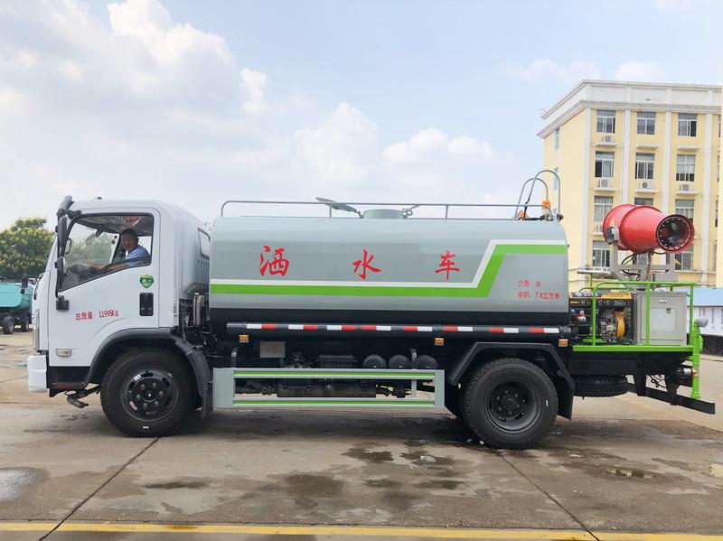 国六 东风大多利卡 8吨 30米 40米 雾炮车图片