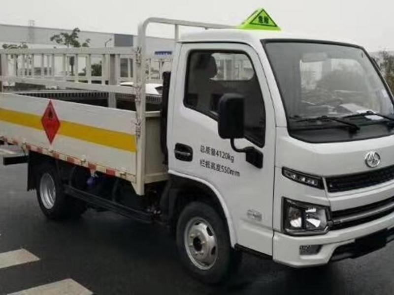 国六柴油版3米左右厢长气瓶运输车