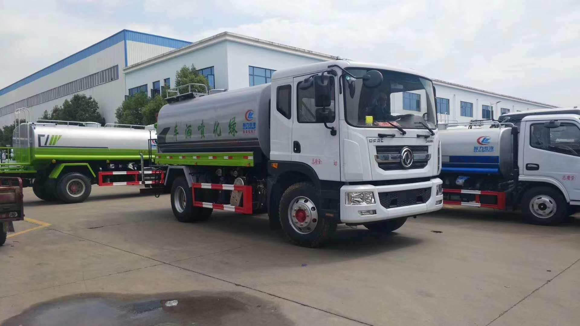 国六15吨东风大多利卡D9雾炮车厂家30米雾炮最新价格和图片