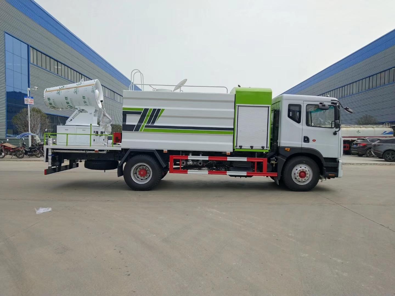 国六东风70米雾炮车厂家12吨洒水抑尘车现货价格