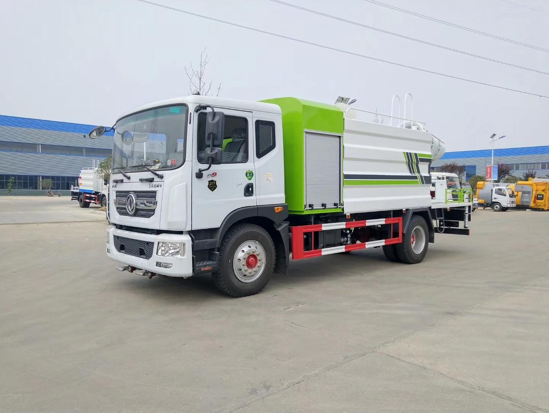 國六50米東風霧炮車價格12噸灑水抑塵車最新款式