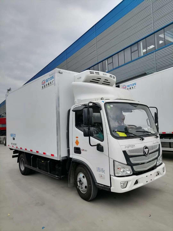 国六福田欧马可4.2米冷藏车配置价格