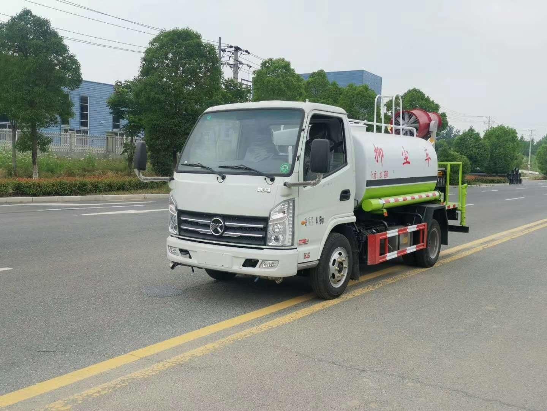 凱馬國六藍牌5噸灑水車配置圖片圖片