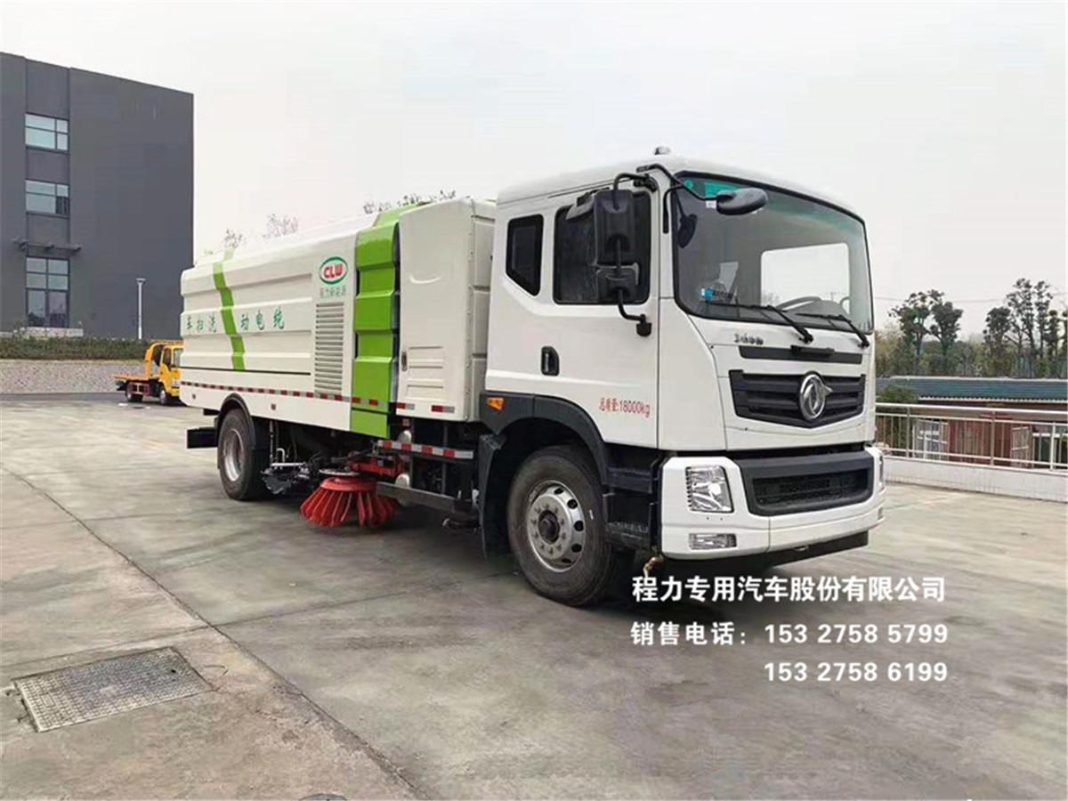 东风T5系列16方纯电动洗扫车图片