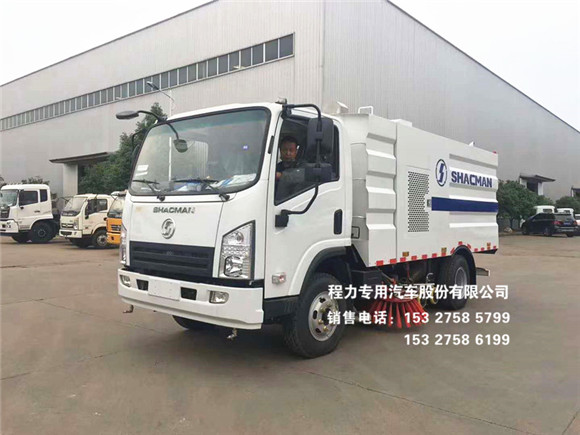 陕汽轩德X9型8方洗扫车CLW5140TXSS5