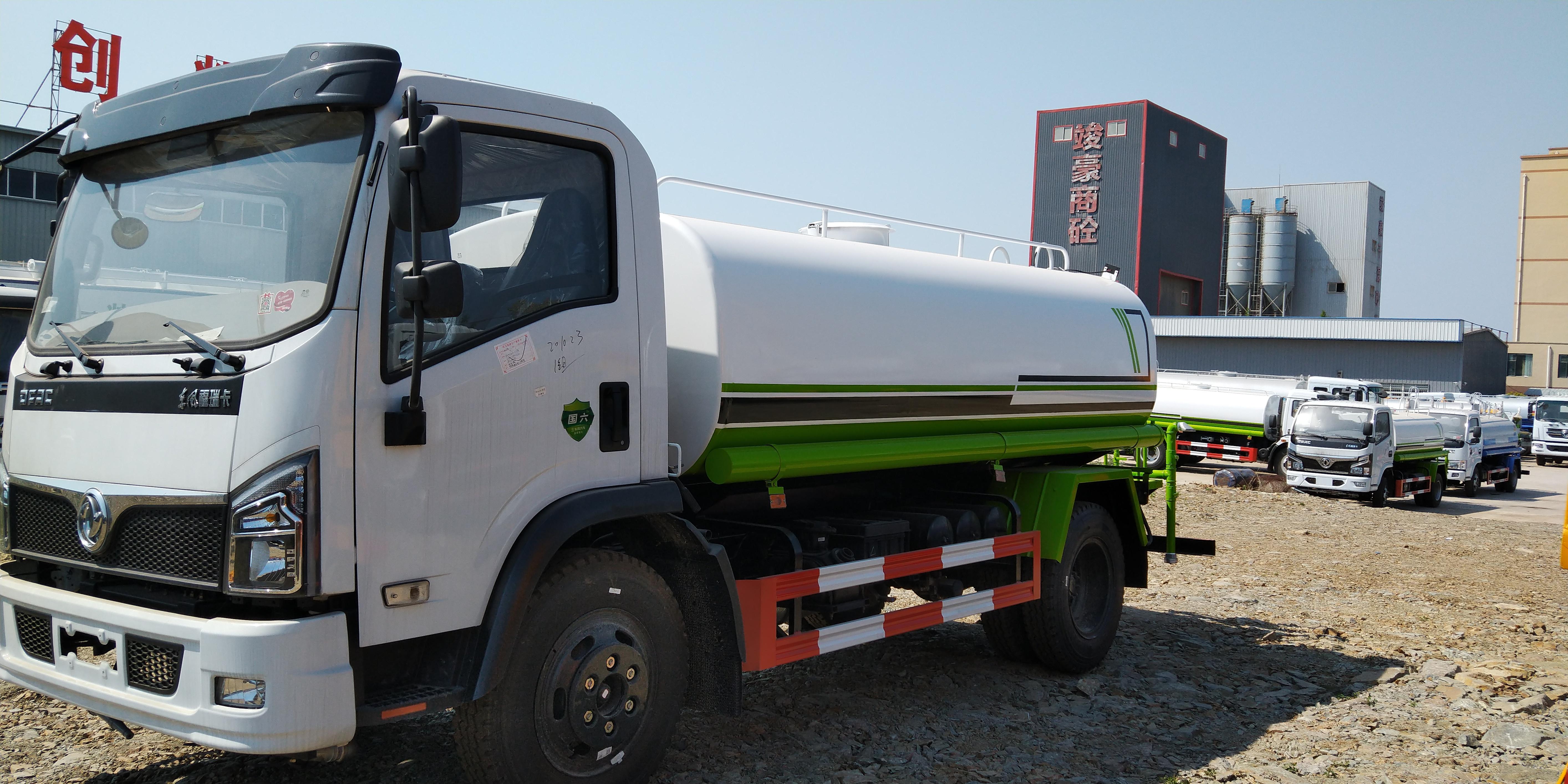 国六8吨10吨东风大马力洒水车雾炮车