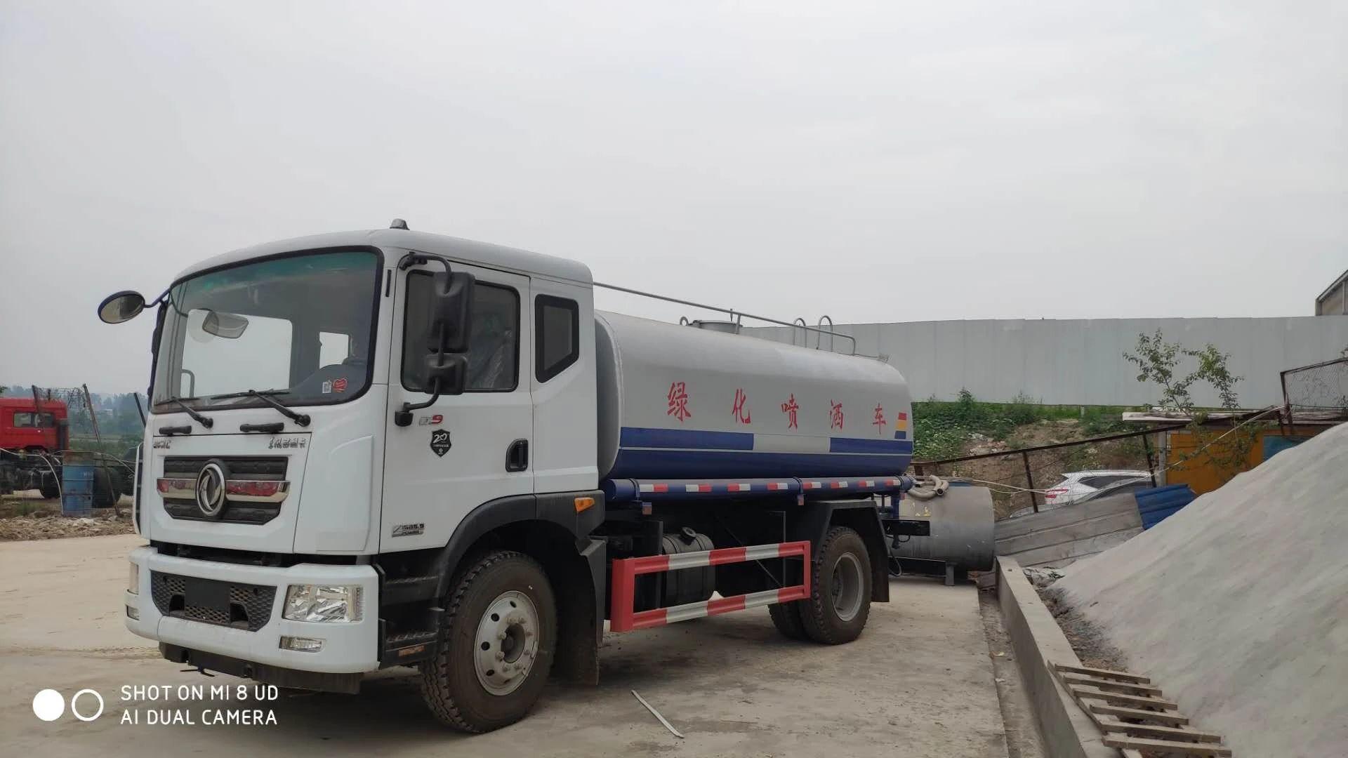 國六東風12方灑水車|灑水車廠家報價直銷圖片