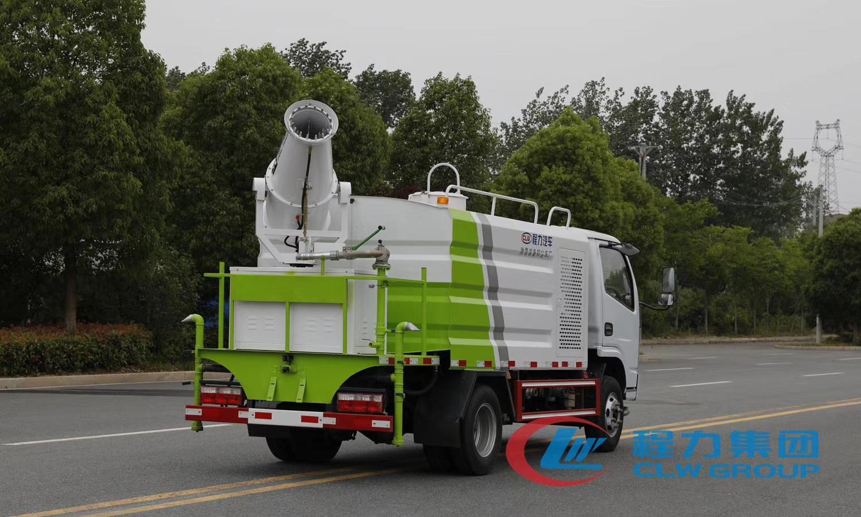 國六藍牌5方抑塵車現車工地降塵園林綠化圖片
