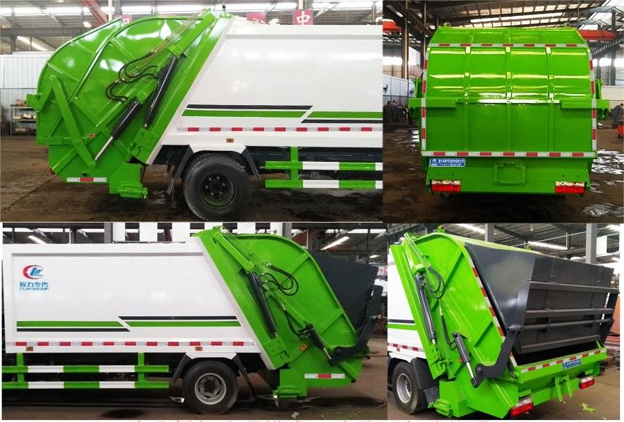 國六D7 8方壓縮垃圾車圖片