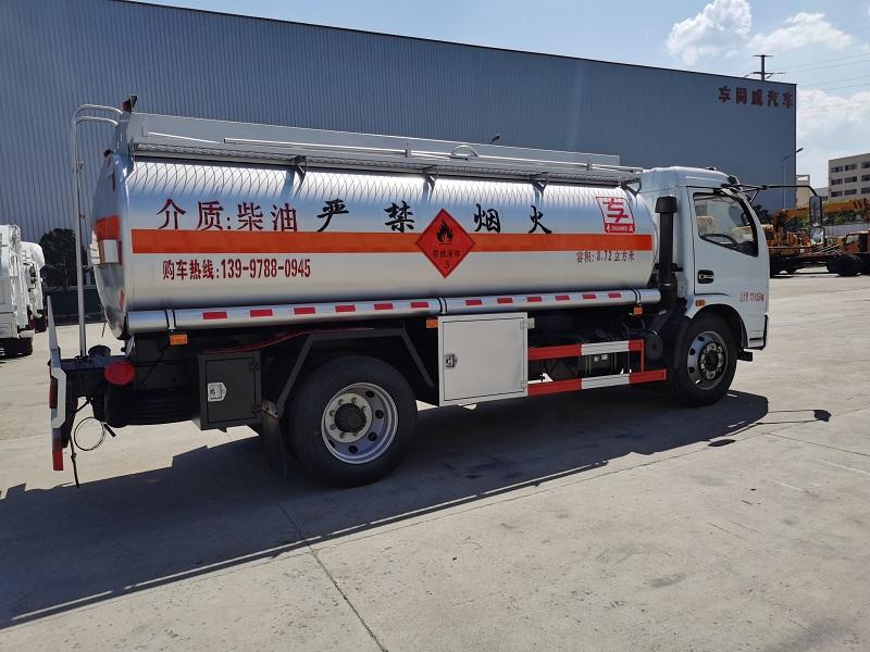 東風多利卡國五國六8噸10噸油罐車多少錢 視頻視頻