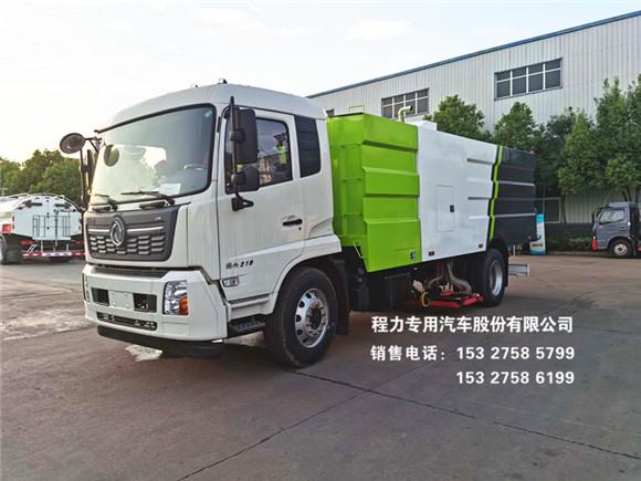 国六东风天锦12方吸尘车