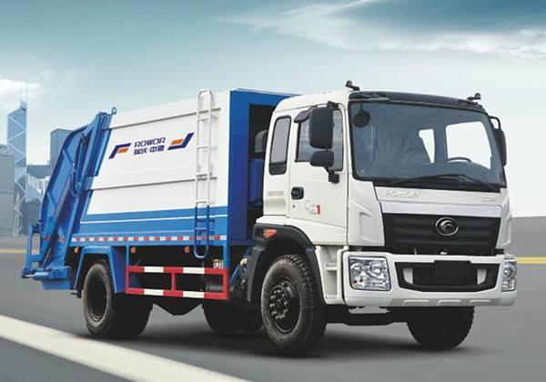 国六东风福瑞卡6方压缩垃圾车配置视频