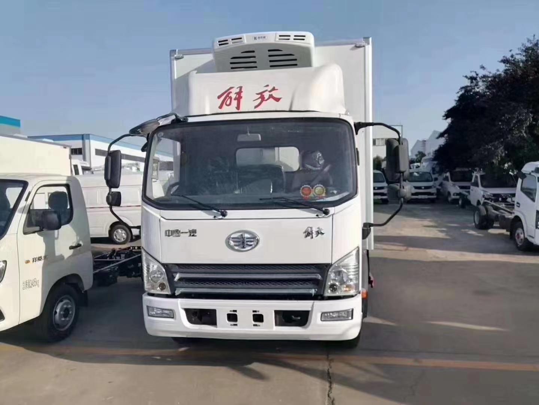 解放J6F國六冷藏車圖片