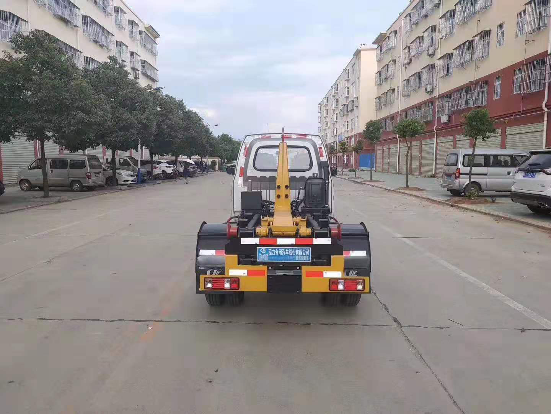 蓝牌长安勾臂式垃圾车,2-3方图片