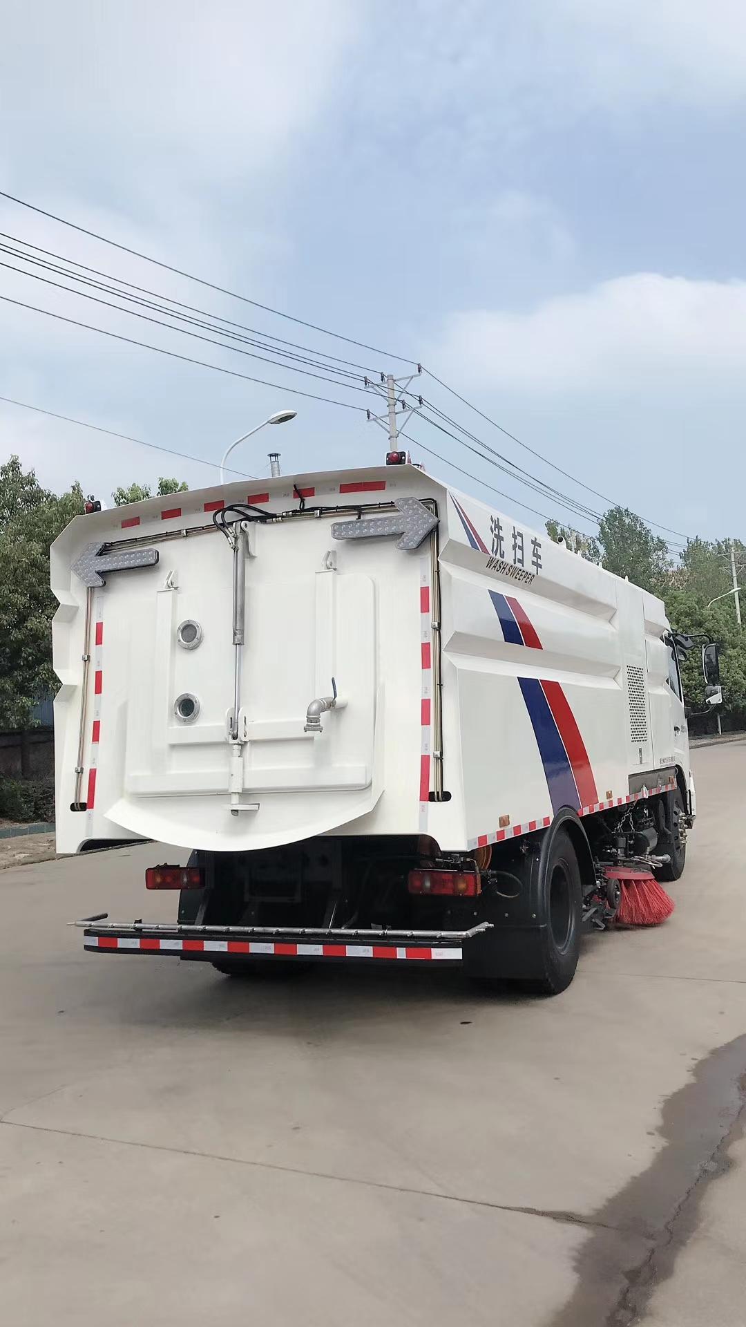 国五东风天锦洗扫车现车图片