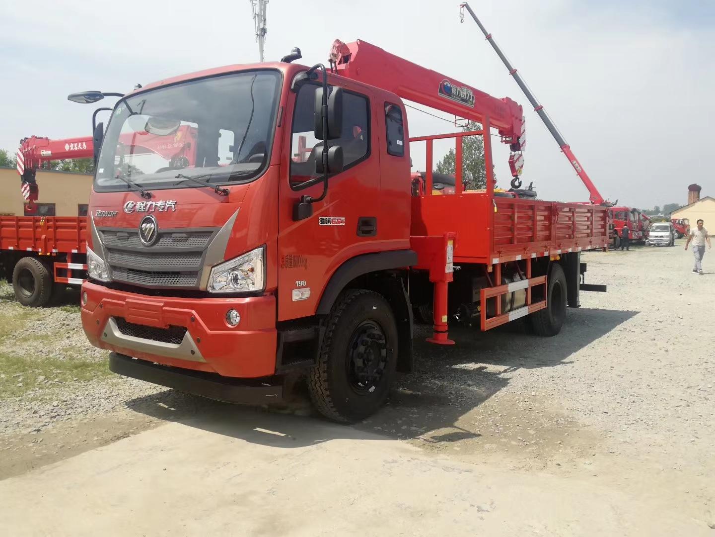 国六福田瑞沃12吨随车吊