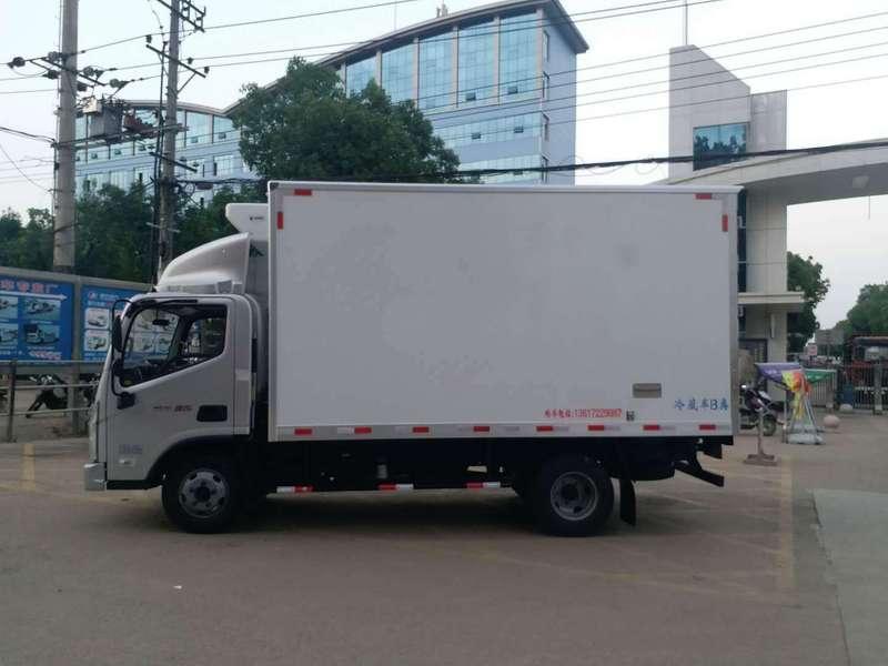 速来围观,广东4.2米蓝牌冷藏车价格新鲜出炉!