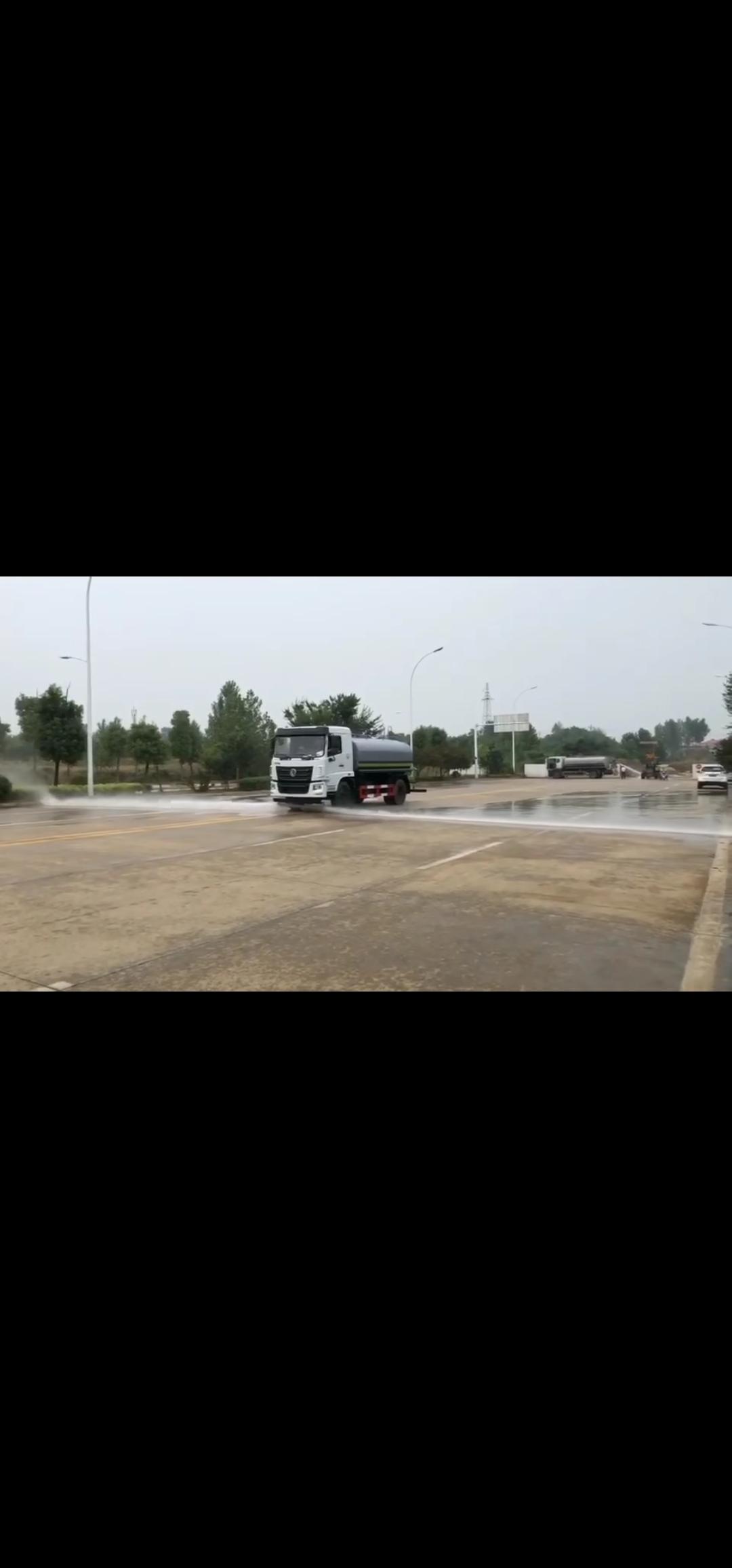 国六东风华神洒水车 12吨洒水车视频