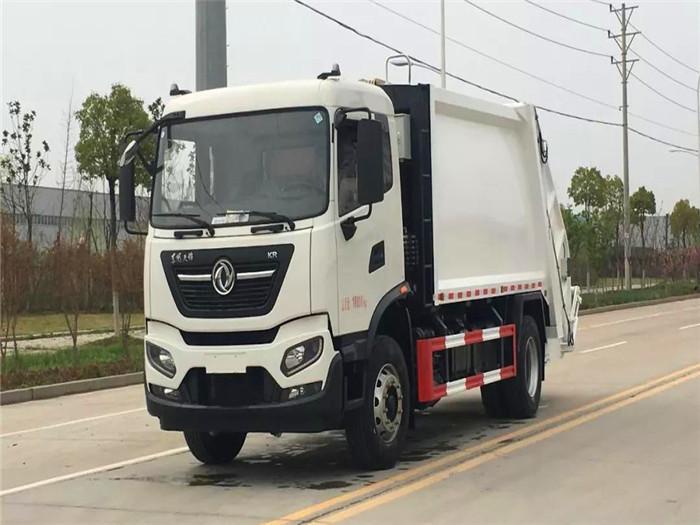 可上北京牌照国六东风天锦14立方米压缩垃圾车