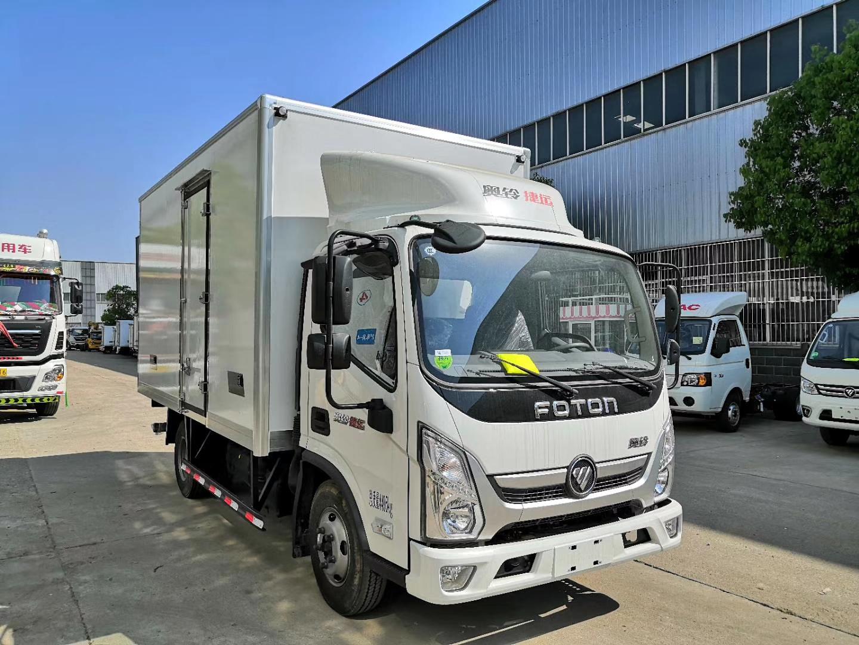 国六福田速运4米2冷藏车(热销中)图片
