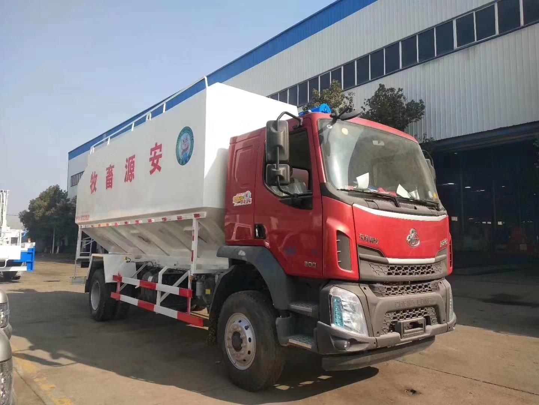 柳汽乘龙28方14吨散装饲料车(热销车型)图片