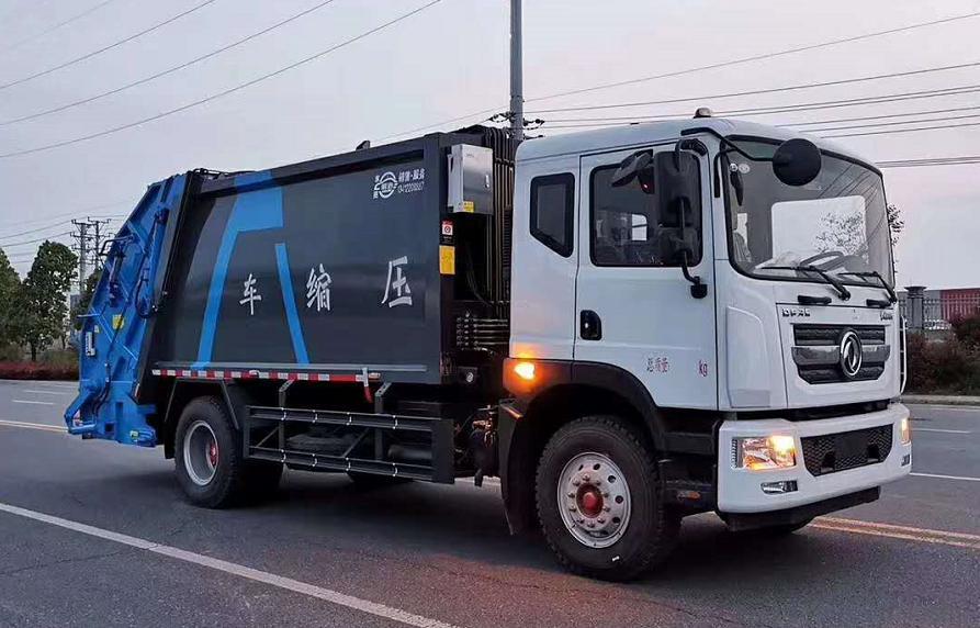 东风12方压缩垃圾车