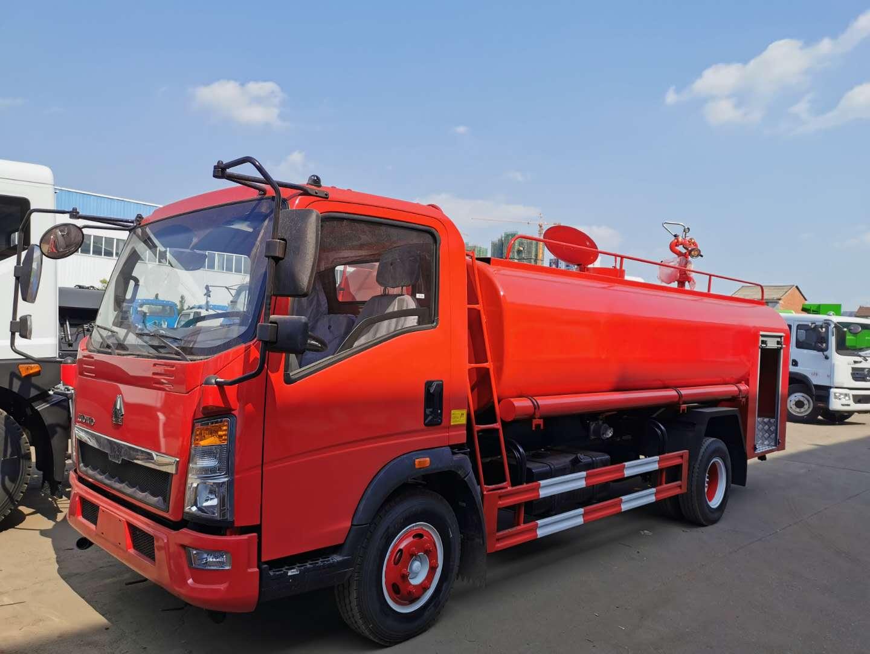 东风消防洒水车图片  程力消防洒水车生产厂家价格 水罐消防洒水车车