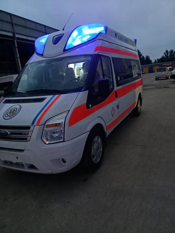 北京 福特V348长轴高顶监护型救护车厂家直销图片