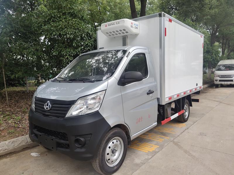 国六长安2米9小型冷藏车出发浙江1397 1799462