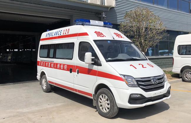 国六大通V80救护车视频