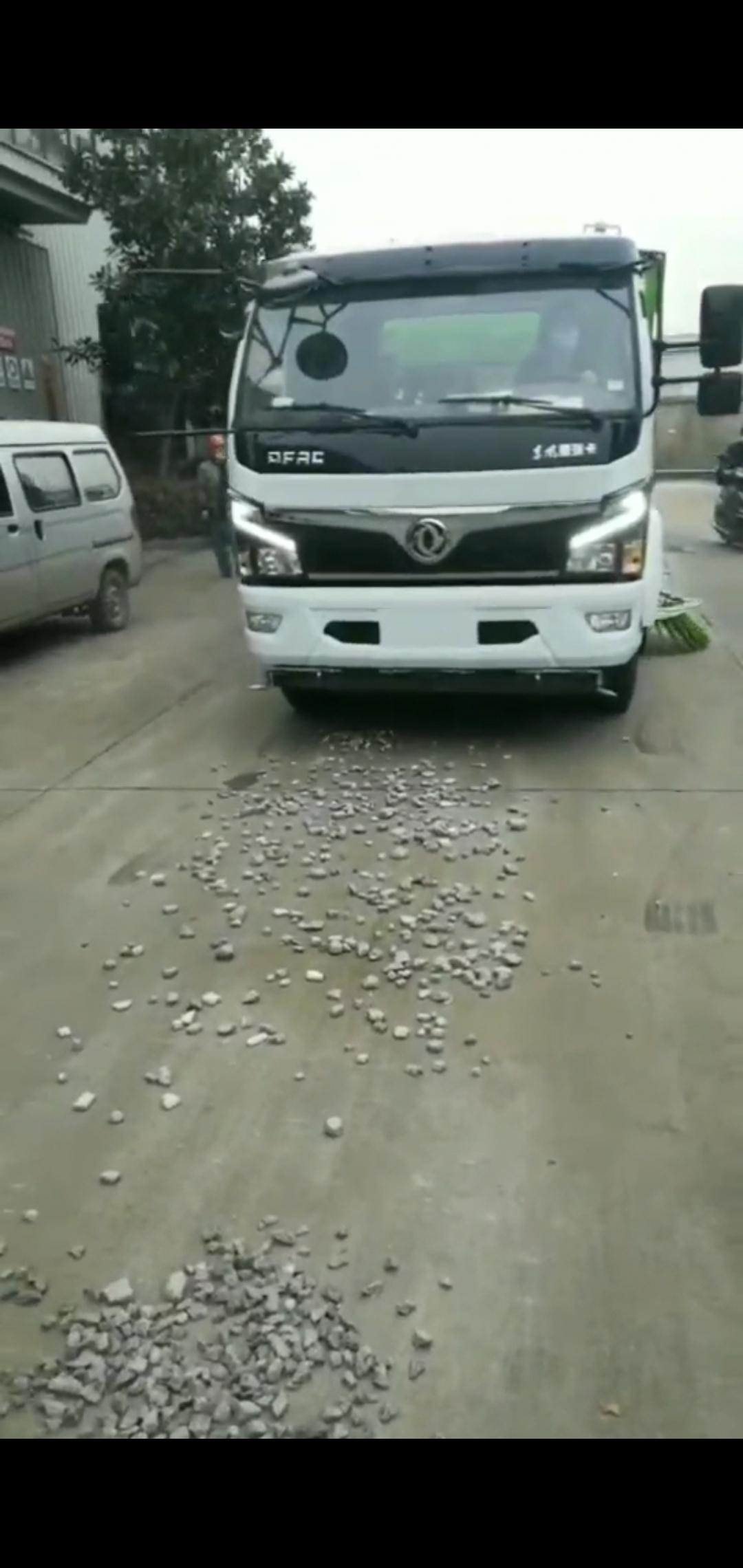 国六多利卡10方洗扫车视频