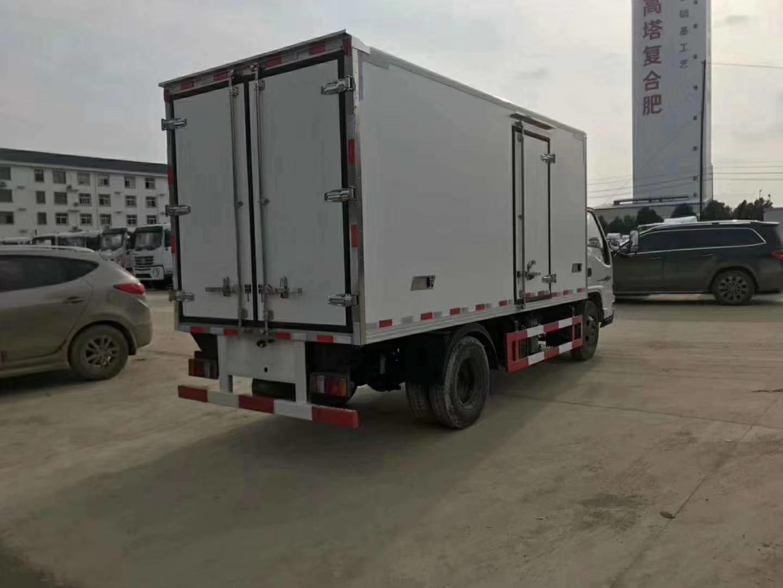 江铃顺达国五4.2米冷藏车图片