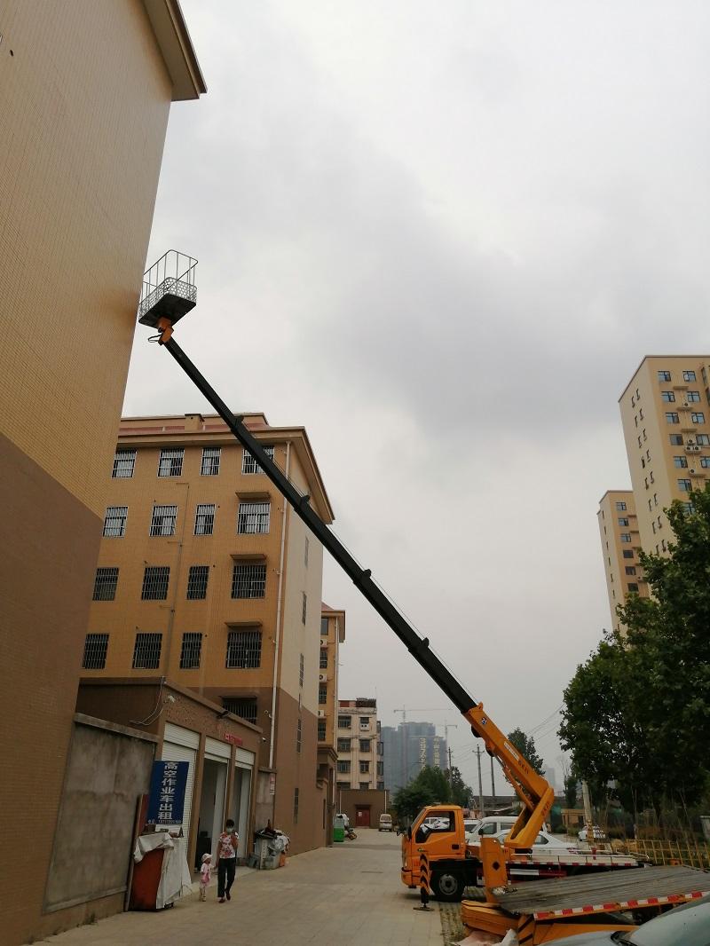 江铃蓝牌21米高空作业车图片