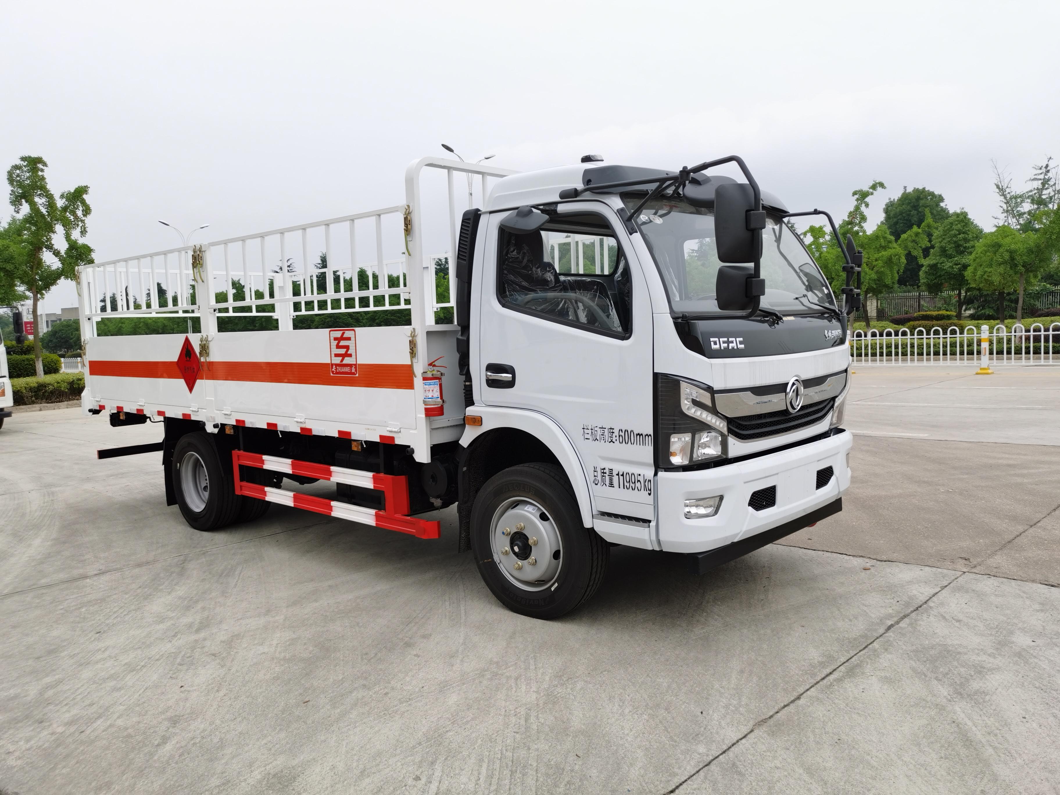 国六东风凯普特5.2米气瓶运输车