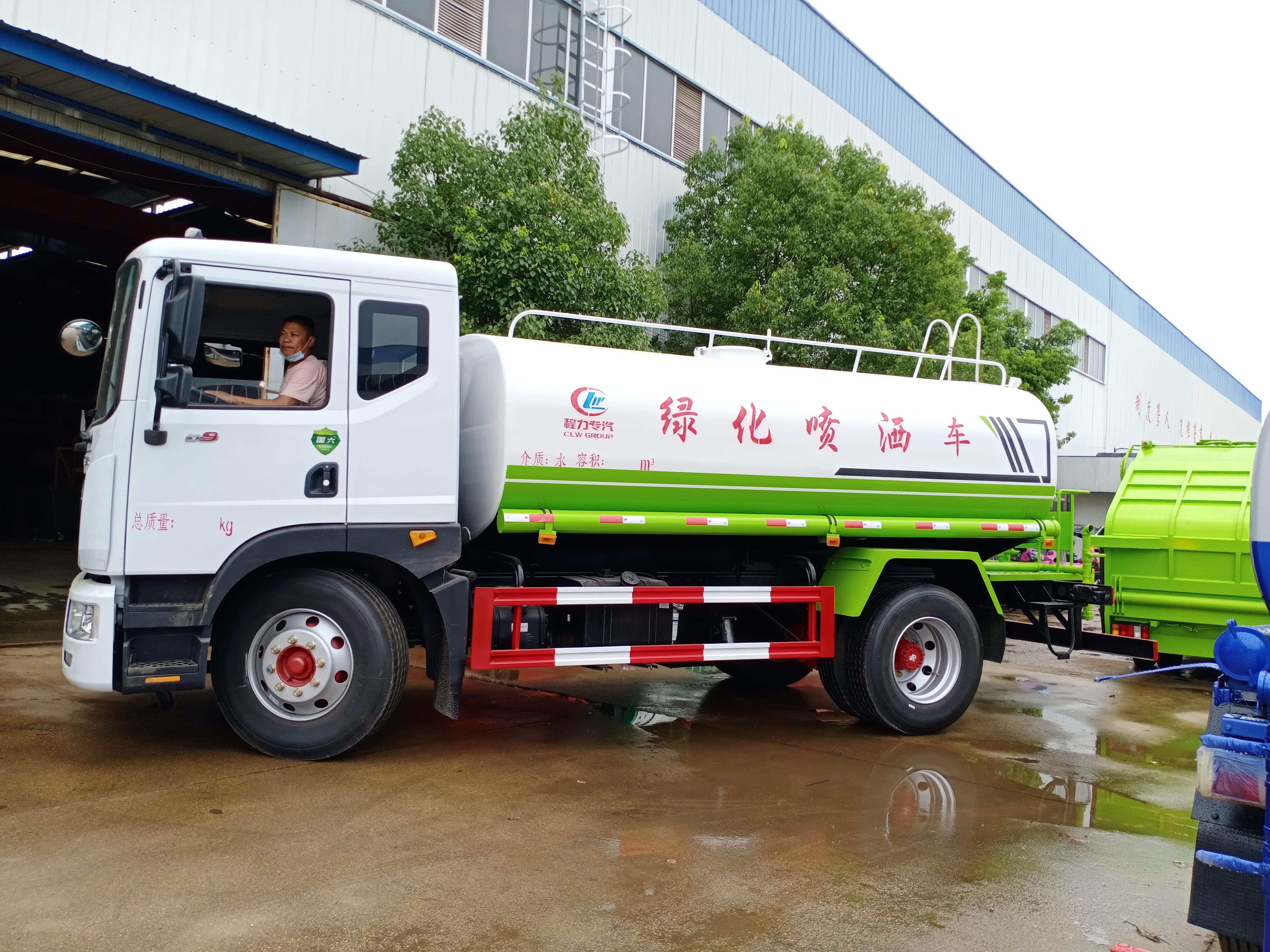 国六12吨洒水车多少钱一台?图片