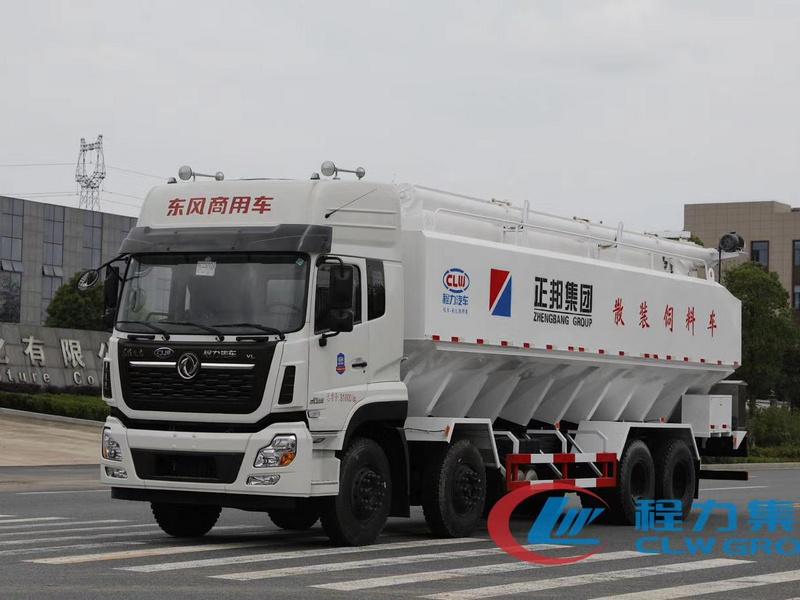 东风天龙前四后八40方20吨散装饲料车多少钱